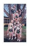 Jesuit Cheerleaders in a Tree, 2002 Giclee Print by Joe Heaps Nelson