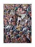 Big Band Gicléedruk van P.J. Crook