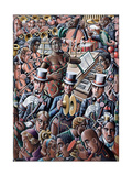 Big Band Giclee Print by P.J. Crook