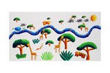 Jungle River, 2002 Giclee Print by Julie Nicholls