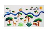 Jungle River, 2002 Giclee Print by Julie Nicholls