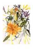 Marigold and Other Flowers, 2004 Giclee Print by Claudia Hutchins-Puechavy