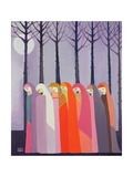 Walk in the Park, 1989 Giclee Print by Laila Shawa