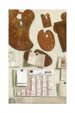 L'Atelier, Mur Sud, Etude 1, 2004 Giclee Print by Delphine D. Garcia