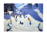 The Gully, Belle Plagne, 2004 Giclee Print by Andrew Macara