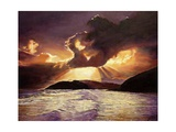 Here Comes the Storm, 2008 Giclee Print by Kevin Parrish