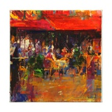 Table at Villefranche Giclee Print by Peter Graham