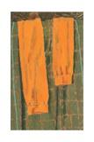 Les Bas Oranges, 2004 Giclee Print by Delphine D. Garcia