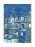 Coverdale Road, W12 Giclee Print by Sophia Elliot