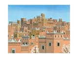 Village, Southern Morocco, 1998 Giclee Print by Larry Smart