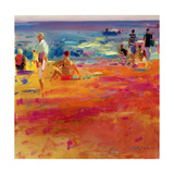 Scene De Plage Giclee Print by Peter Graham
