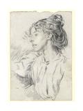 Portrait of Ursula Tyrwhitt, C.1897 Giclee Print by Augustus Edwin John