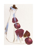 Wedding Dress Giclee Print by Anna Platts