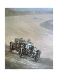 24 Hour Race at Brooklands, 1929 Giclee Print by Peter Miller