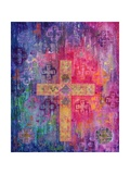 Eastern Cross, 2000 Giclee Print by Laila Shawa
