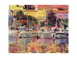Golden Harbour Vista Giclee Print by Peter Graham