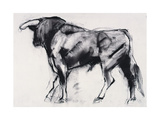 Toro Azul, Study Giclee Print by Mark Adlington