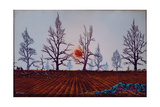 December Sunset, 1946 Giclee Print by Tristram Paul Hillier