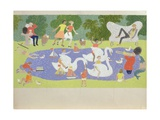 The Fantastic Park, 1961 Giclee Print by John Armstrong