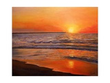 Sunset and Tranquility, 2008 Giclee Print by Kevin Parrish
