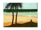 Seaside Solitude, 2006 Giclee Print by Tilly Willis