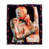 The Kiss, 1987 Giclee Print by Graham Dean