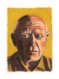 Pablo Picasso, 2008 Giclee Print by Sara Hayward