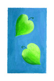 Leaf Hearts, 2003 Giclee Print by Julie Nicholls