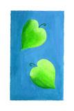 Leaf Hearts, 2003 Giclee Print by Julie Nicholls
