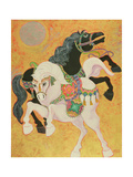 Antar and Abla, 1989 Giclee Print by Laila Shawa