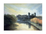 Warwick Castle Giclee Print by Jane Carpanini