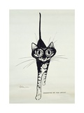 Move Quietly, C.1962 Giclee Print by George Adamson