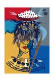 African Beauty 3, 2005 Giclee Print by Oglafa Ebitari Perrin