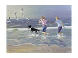 The Chase Giclee Print by William Ireland