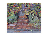 Janet's Steps, Cambridge, Massachusetts Giclee Print by Christine McKechnie