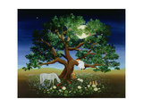 Tree of Dreams, 1994 Giclee Print by Magdolna Ban