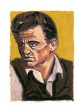 Johnny Cash, 2080 Giclee Print by Sara Hayward