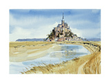 Mont Saint-Michel Giclee Print by Felicity House