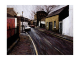 Circus Street (Next to the Cheeseboard), 2000 Giclee Print by Ellen Golla