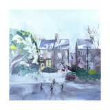 November in Coverdale Road, 2007 Giclee Print by Sophia Elliot