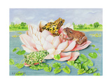 Water Lily, 1998 Giclee Print by E.B. Watts