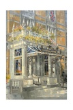 The Connaught Hotel, London Giclee Print by Peter Miller