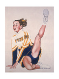 Floor Routine, 2002 Giclee Print by Joe Heaps Nelson