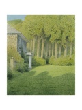 The Woods at Pyworthy Rectory, 2008 Giclee Print by Kevin Hughes