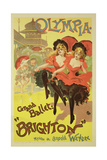 Reproduction of a Poster Advertising the Ballet 'Brighton', Theatre Olympia, 1893 Giclee Print by  Pal