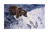 Alaskan Brown Bear, 2002 Giclee Print by Joe Heaps Nelson