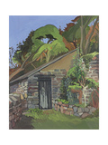 The Shed, Clovelly Giclee Print by Anna Teasdale