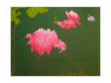 Peonies in Aschau Giclee Print by Simon Fletcher