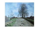 January Landscape, Somerset, 1962 Giclee Print by Tristram Paul Hillier