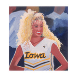 Iowa Cheerleader, 2001 Giclee Print by Joe Heaps Nelson